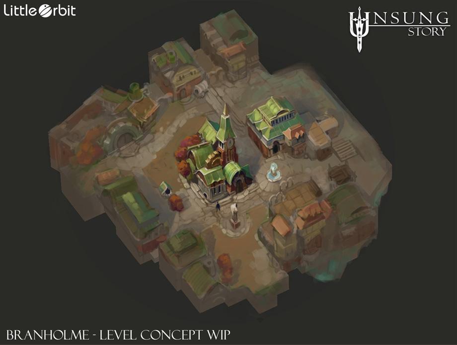 Branholme Map Rough Concept
