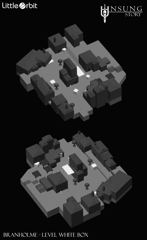Branholme Map White Box