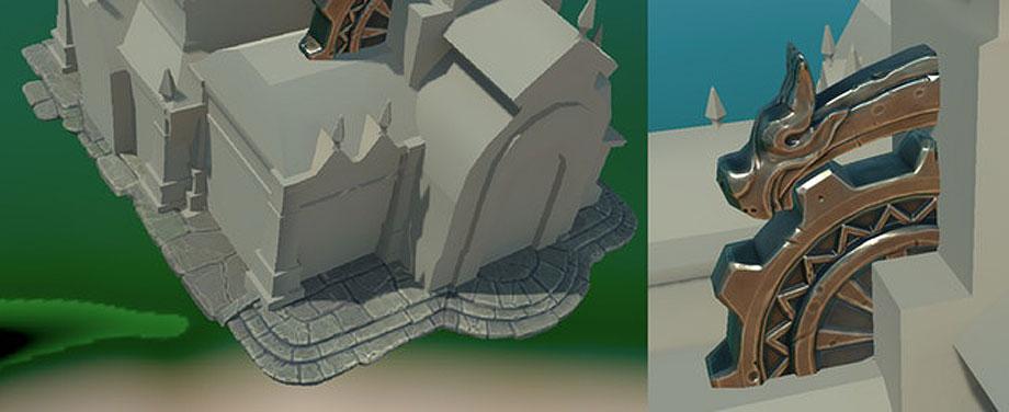 Stone and Building progress