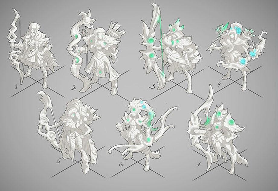 Archer sketches