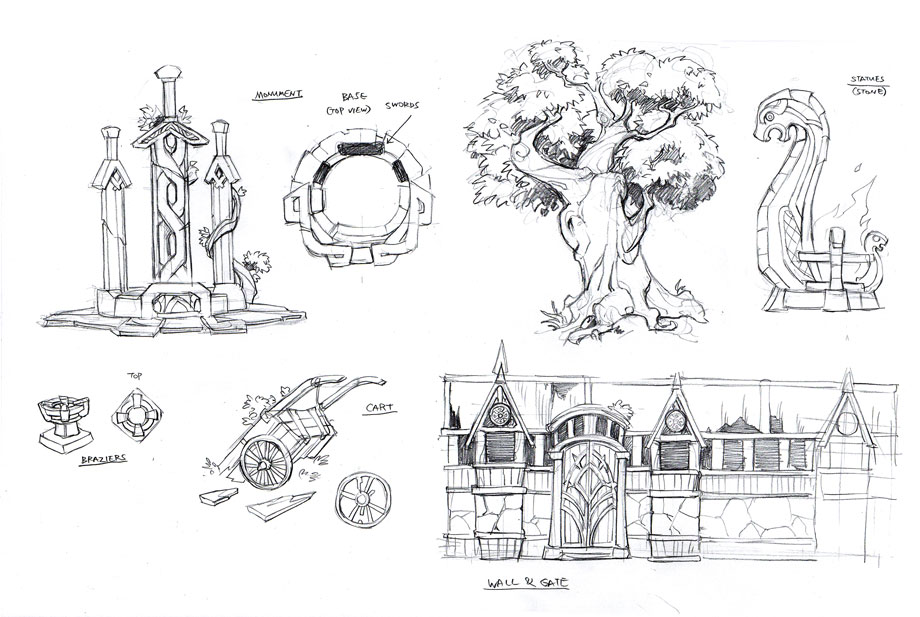 Saxtel Wilderness Sketches