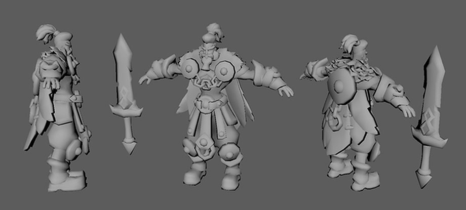 Sellsword 3D work in progress