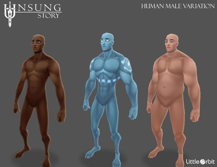 Human Male Variation